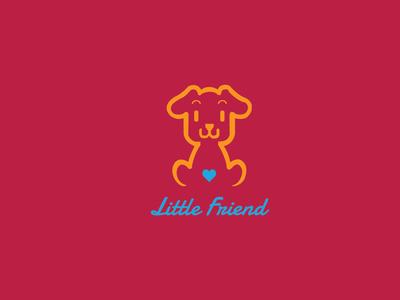 Little Friend Logo, This is an Animal Shop Logo Design.