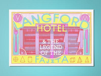 Langford Hotel Postcard