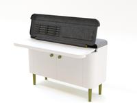 Console and desk