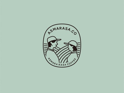 Logo Asmarasa Coffee