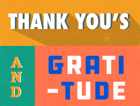 snippet of a thank you card!