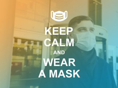 Keep Calm and Wear Mask