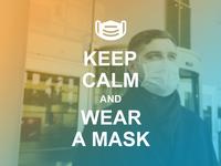 Keep Calm and Wear Mask