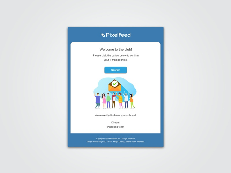 Pixelfeed Confirmation E-mail