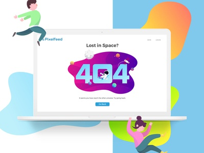 Pixelfeed 404 Error Page