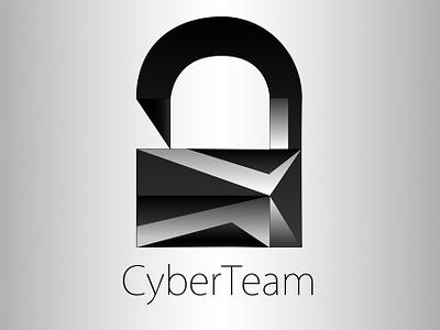 Cyberteampadlock logo