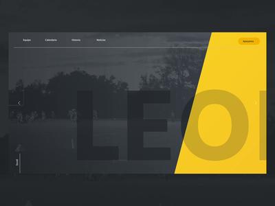 Leonas - Women´s Local American Football Team Concept
