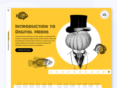 University of the arts e-learning platform web concept ui deesign web typography figma e-learning ui