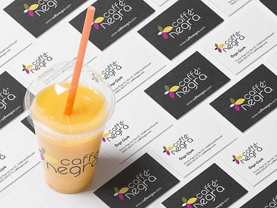 Caffe Negra | Branding emrealkac design business card branding