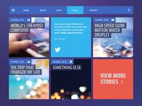 Blog/Magazine UI Kit