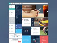 Blog/Magazine UI Kit #2