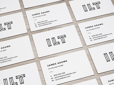 Perspective Business Cards Mockup perspective business cards mock-up freebie psd free