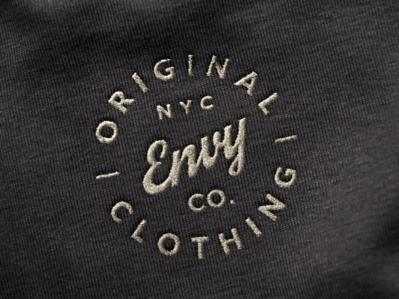Embroidered Logo Mockup By Raul Taciu Dribbble Dribbble