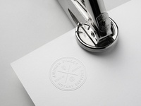 Embossing Seal Stamp Mock