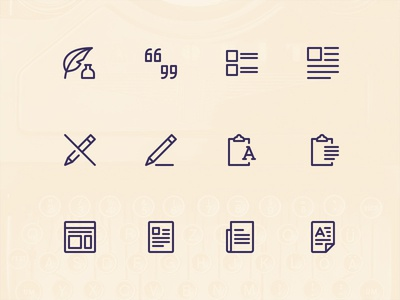 Simple Line Icons Pro - Content simple icons icon pack icon content line icons icons icon set