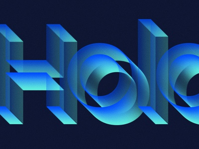 Holo mockup neon photoshop psd freebie effect style text hologram