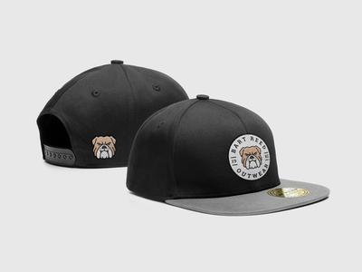 Snapback Cap Mockup embroidery template mock-up mockup freebie psd hat cap snapback