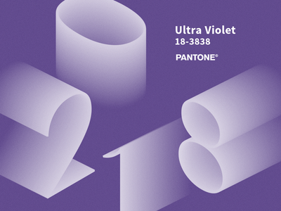 Color Of The Year mock-up 3d photoshop. psd freebie ultra violet pantone