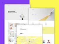 The Litae - Creative & Minimal Portfolio / Agency Template