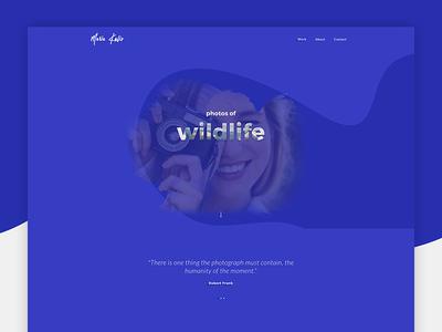 Photographer Website Design retina flat clean animated responsive design css3 html5 portfolio parallax live design photographer