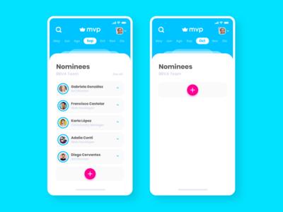 MVP App UI
