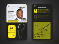 Taxify mobile UIUX