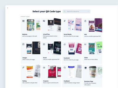 Exploring QR Code Types products interface interaction design user interface user experience ux ui