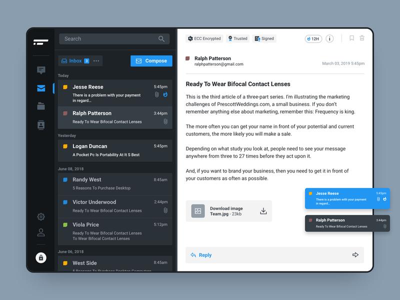 Mail Desktop App