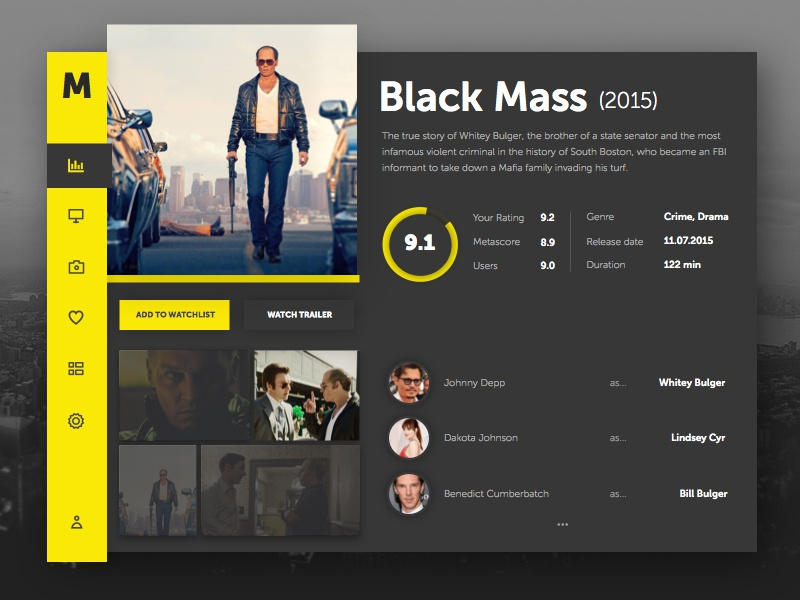 Freebie 003 - Movie Dashboard Dark & Light (Sketch) ux dashboard film black mass ui movie sketch freebie