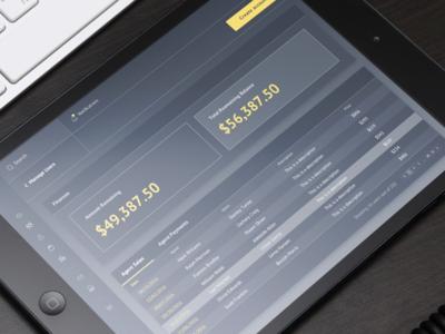 Dashboard - Finances