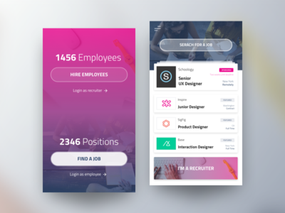 Vacancy Board - Mobile