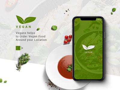 Vegan App Design order order food food app ui vegan ux ux-ui mobile ui minimal food and beverage food food app delivery app mobile ui mobile app