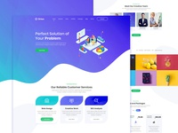 Orion - One Page Digital Agency HTML Template