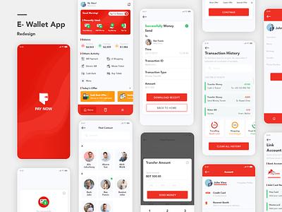 E-Wallet App wallet app money app mobile ui ios dribbble best shot banking app e-wallet agency minimal mobile app 2019 trend design clean ux ui