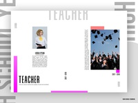 Layout high school yearbook