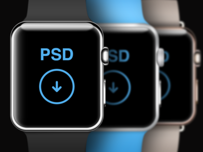  Watch PSD Template apple watch iwatch wlebovics psd template mockup mock free freebie download