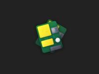 Circuit board illustration