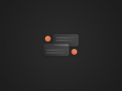 Support illustration branding cards portfolio support icon illustration