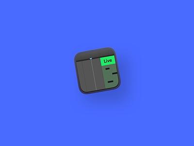 Ableton Live Icon V2 blue cards branding icon vector ui logo