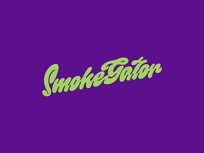 Smokegator branding typography logodesign lettering letters lettermark letter design logotype logo