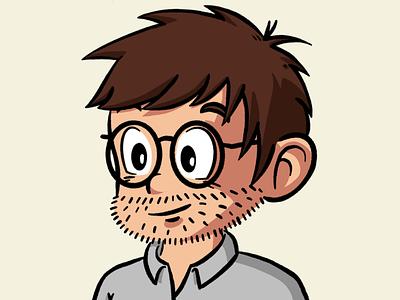 New profile picture selfie portrait avatar branding illustration