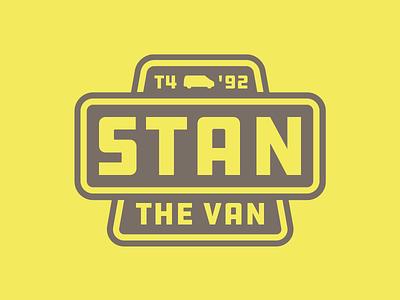 Stan The Van - logo ddc campervan industrial logo