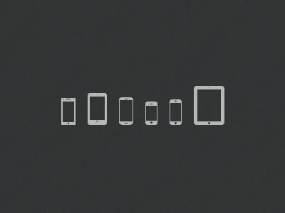 Mobile Devices Icons mobile device smartphone tablet icon minimal nokia lumia nexus 7 samsung galaxy siii iphone 4 iphone 5 ipad freebie