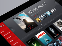 Netflix concept progress