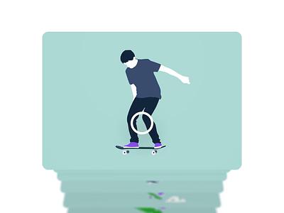Kick Flip Book flipbook 3d carousel carousel skateboarding kick flip