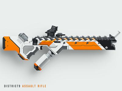 District9 Assault Rifle prawn epicarmory epic armory district9 weapon