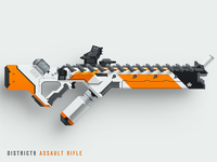 District9 Assault Rifle