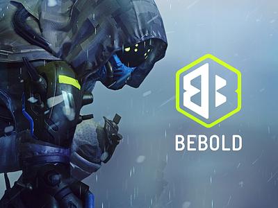 BeBold Logo Concept gamer hexagon bold logo destiny