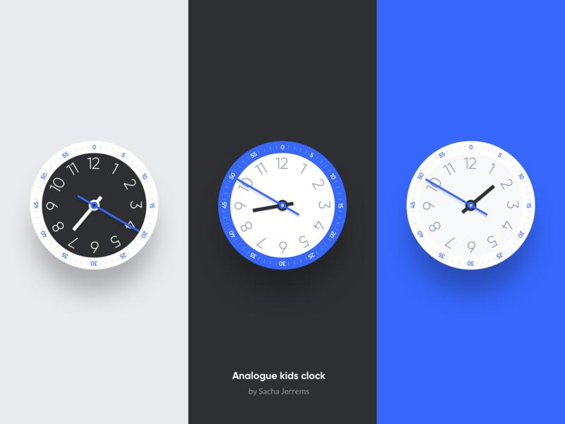 Kids analogue clock analogue clock