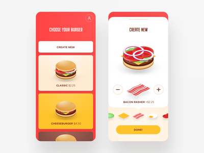 Burger builder builder bacon app burger app burger